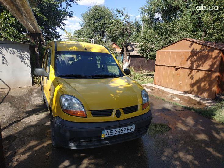 Renault Kangoo 2003 желтый - фото 1