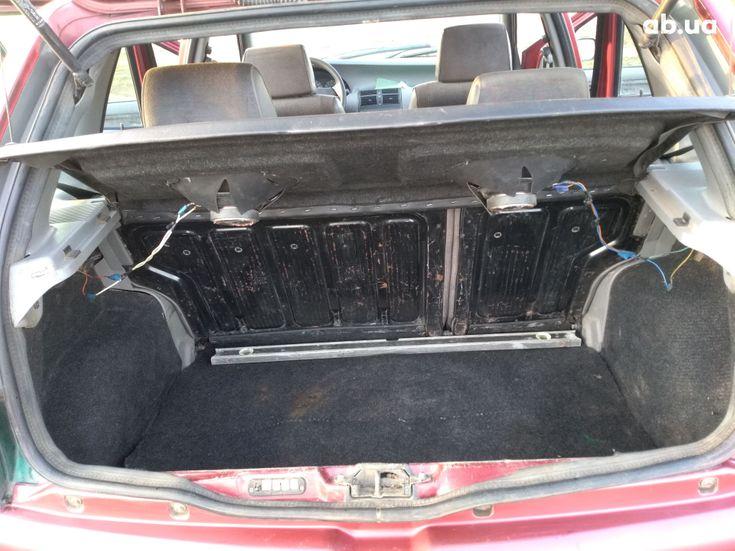 Fiat Punto 1998 красный - фото 9