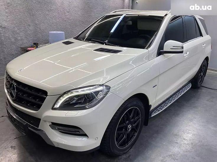 Mercedes-Benz M-Класс 2013 белый - фото 3
