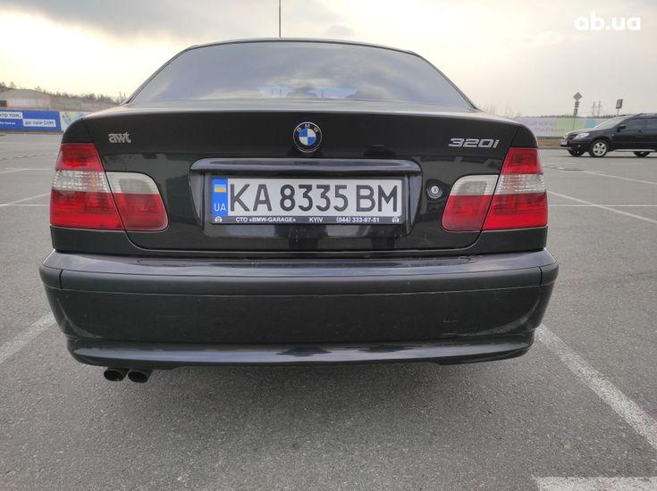 BMW 3 серия 2003 черный - фото 2