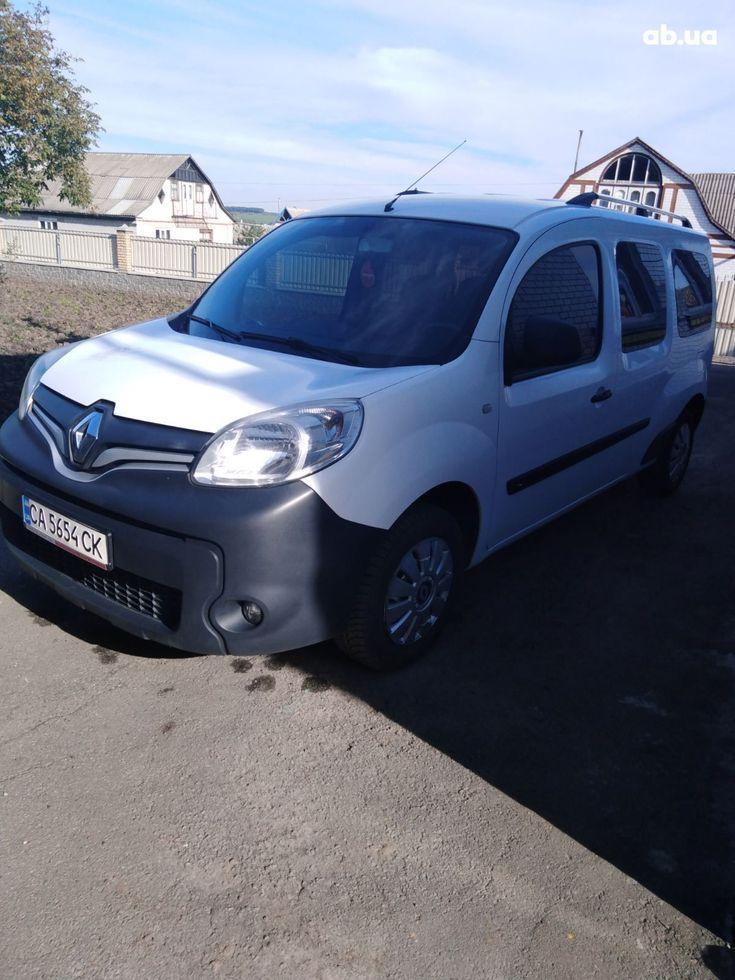 Renault Kangoo 2014 белый - фото 1