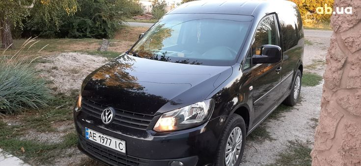 Volkswagen Caddy 2011 черный - фото 14