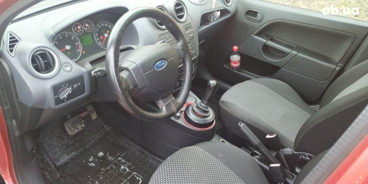 Ford Fiesta 2008 красный - фото 10