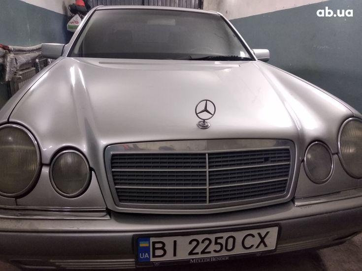 Mercedes-Benz E-Класс 1998 серый - фото 14