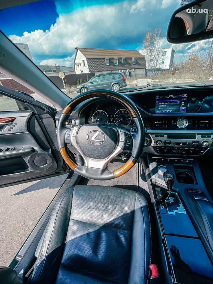 Lexus es 350 2013 черный - фото 18