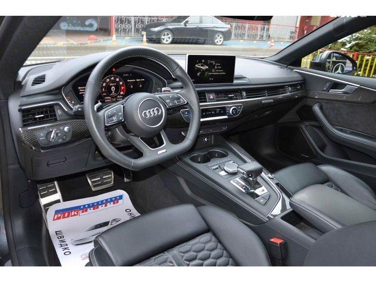 Audi RS 5 2018 серый - фото 12