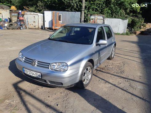 Volkswagen Golf 2003 серебристый - фото 8