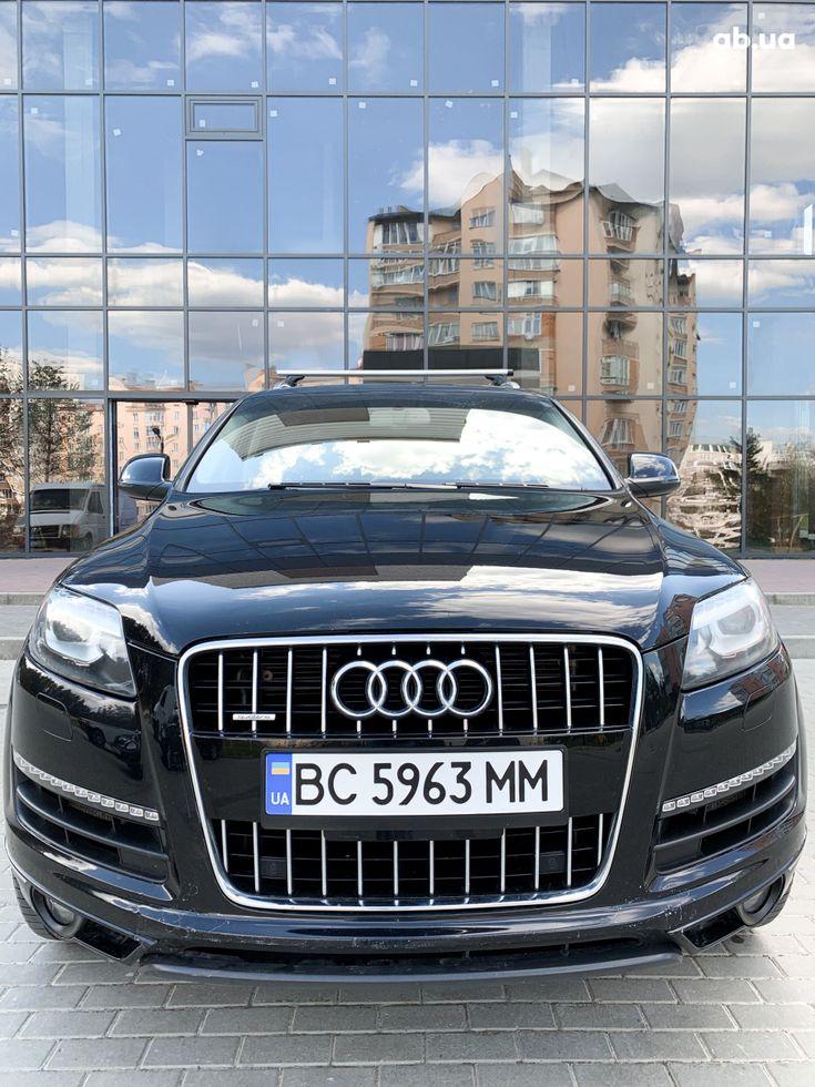 Audi Q7 2012 черный - фото 5