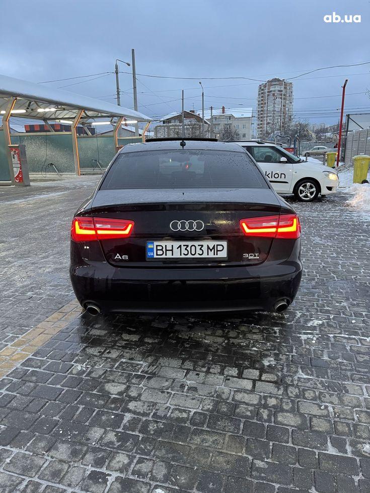 Audi A6 2013 черный - фото 10