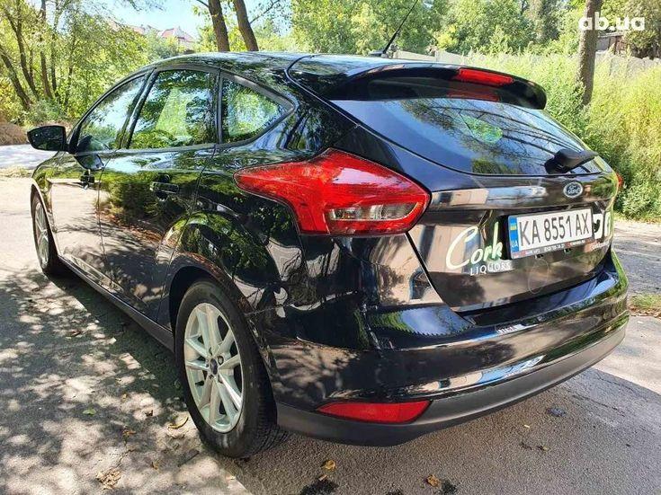 Ford Focus 2016 черный - фото 5