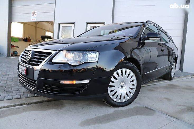 Volkswagen passat b6 2008 черный - фото 4