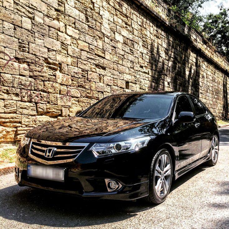 Honda Accord 2012 черный - фото 1