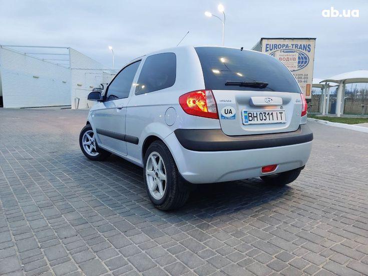 Hyundai Getz 2005 серый - фото 5