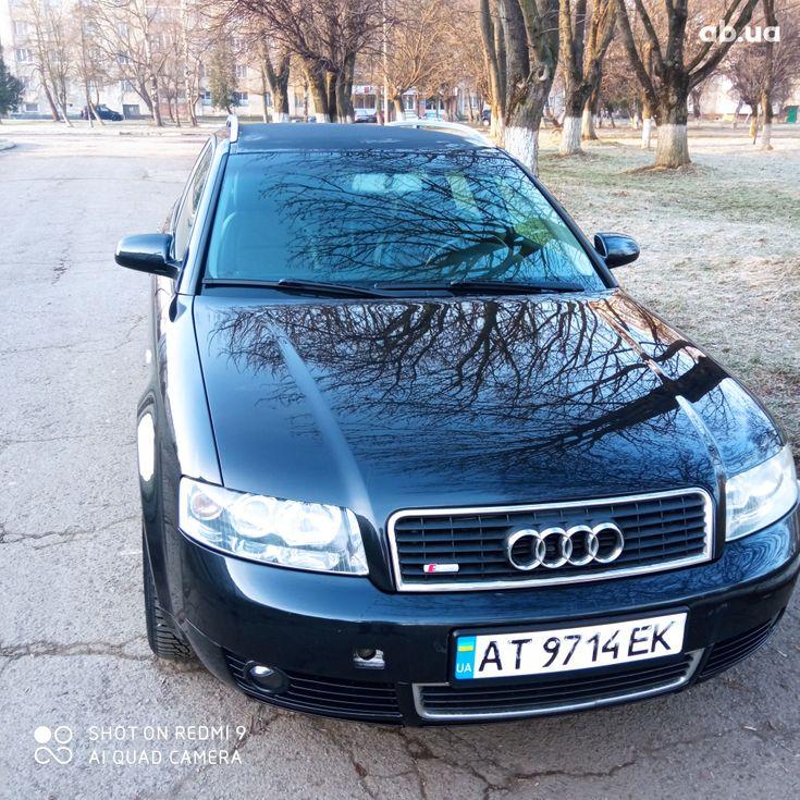 Audi A4 2004 черный - фото 1
