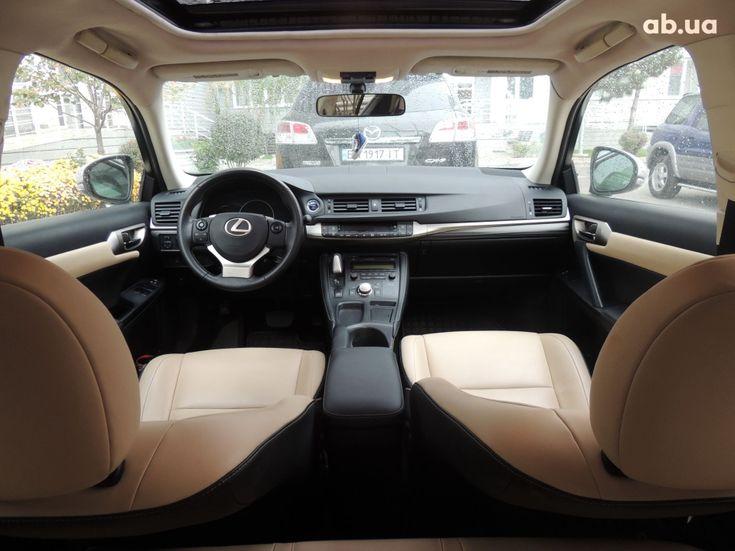 Lexus CT 2014 фиолетовый - фото 5