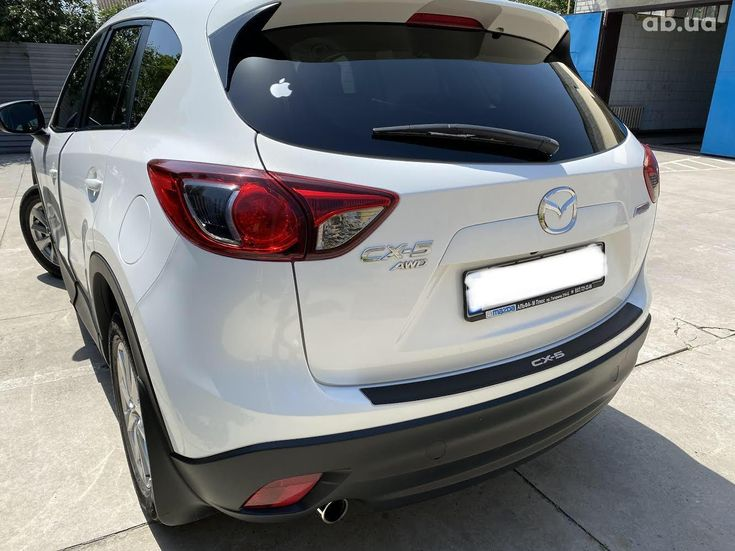 Mazda CX-5 2014 белый - фото 5