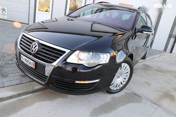 Volkswagen passat b6 2008 черный - фото 10
