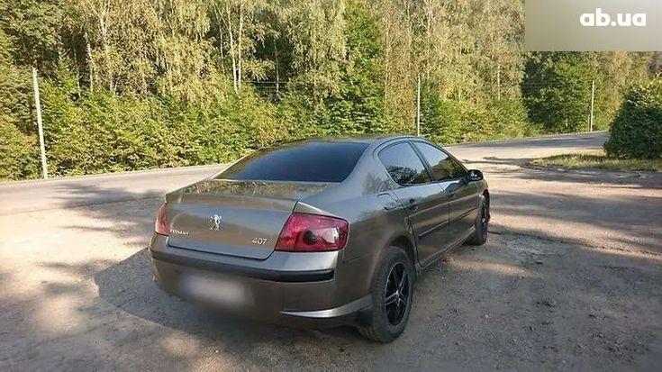 Peugeot 407 2006 коричневый - фото 6