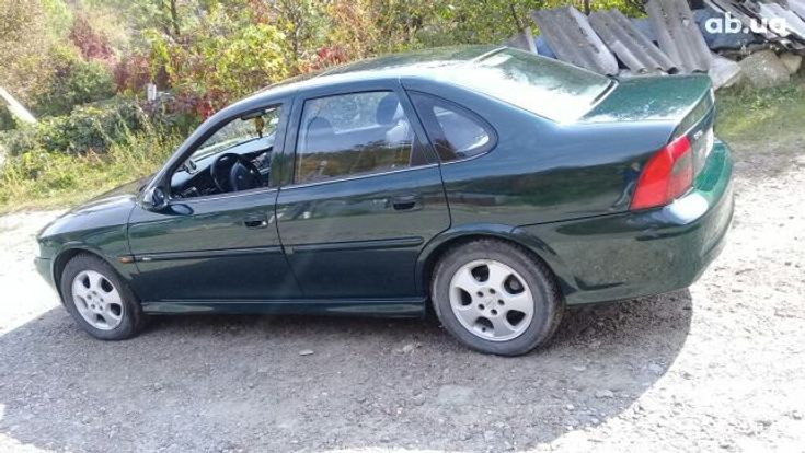 Opel Vectra 1999 зеленый - фото 7