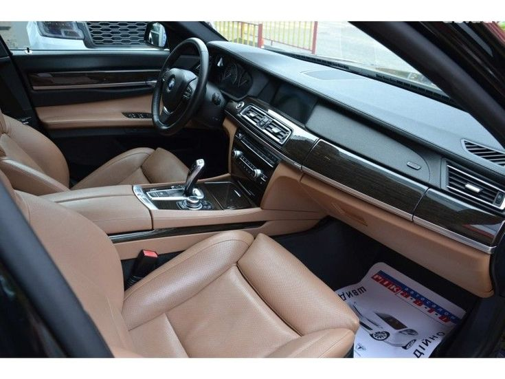 BMW 7 серия 2009 черный - фото 9