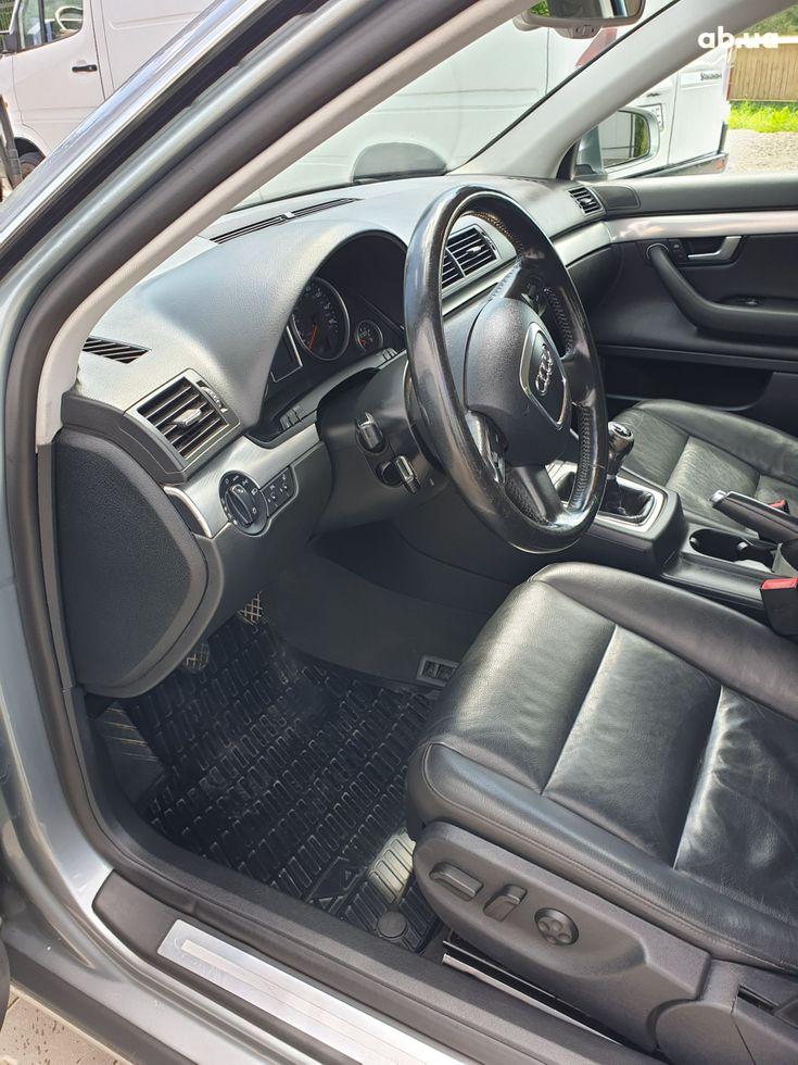 Audi A4 2007 серый - фото 12