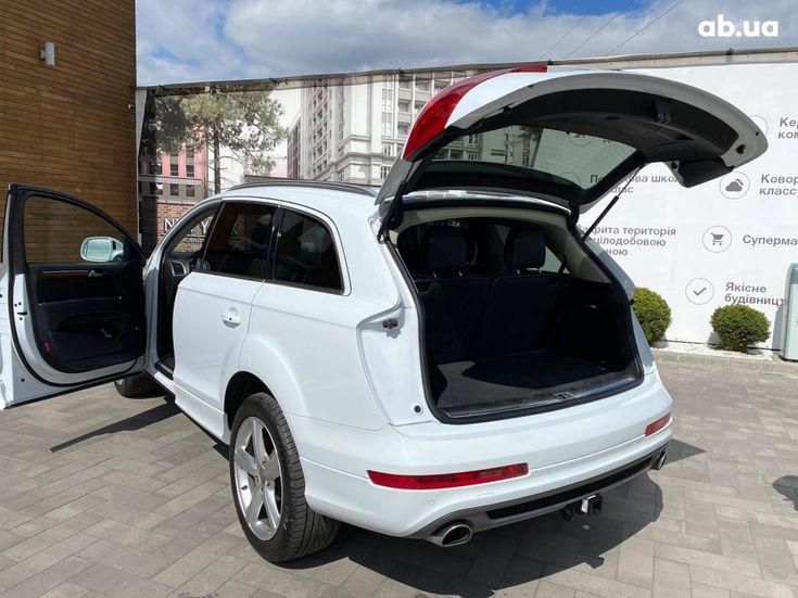 Audi Q7 2013 белый - фото 6