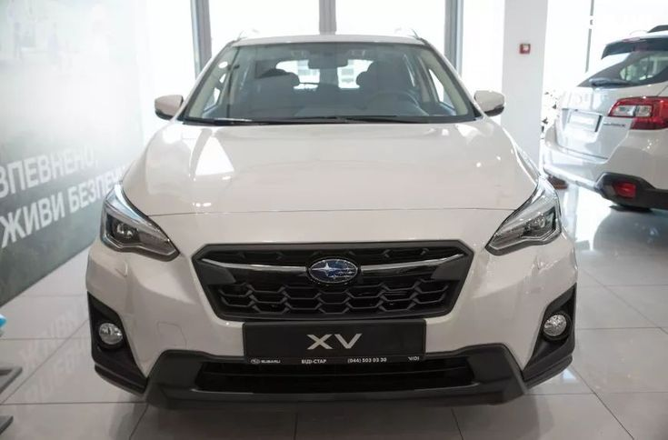 Subaru XV 2020 белый - фото 2