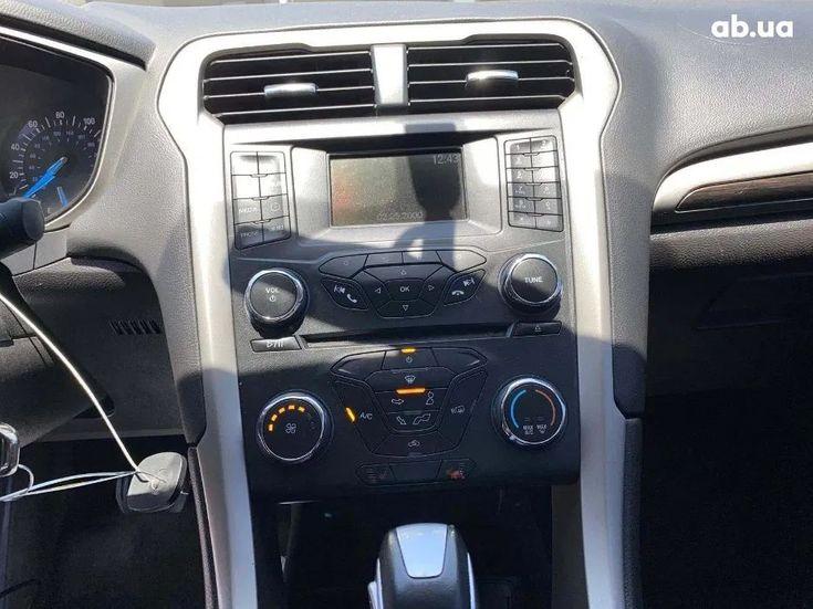 Ford Fusion 2014 белый - фото 5