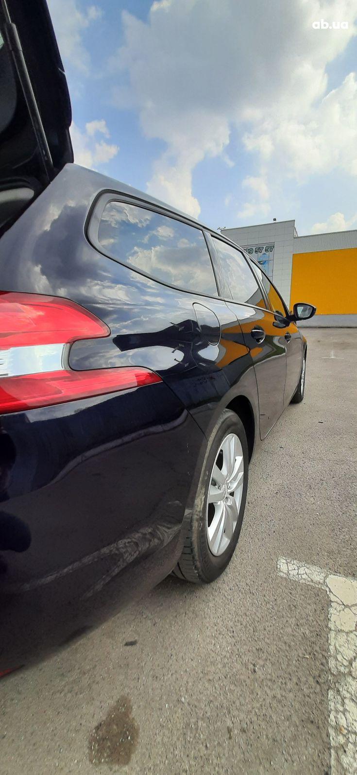 Peugeot 308 2015 синий - фото 5