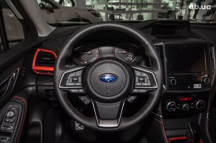 Subaru Forester 2020 белый - фото 15