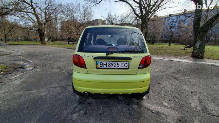 Daewoo Matiz 2006 зеленый - фото 6