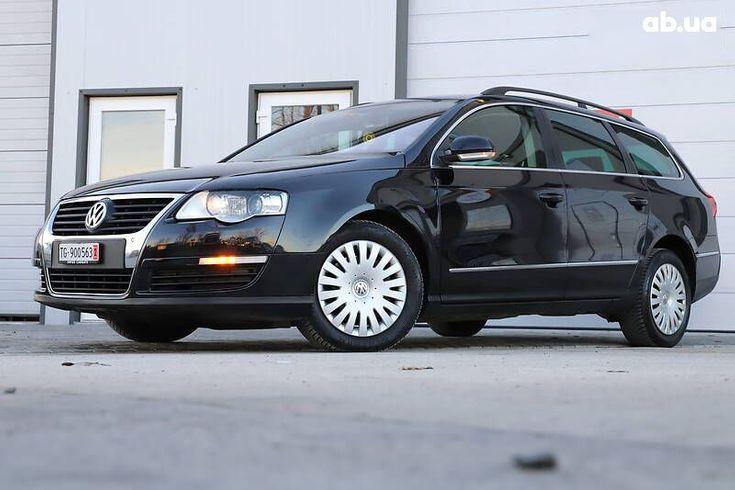 Volkswagen passat b6 2008 черный - фото 9