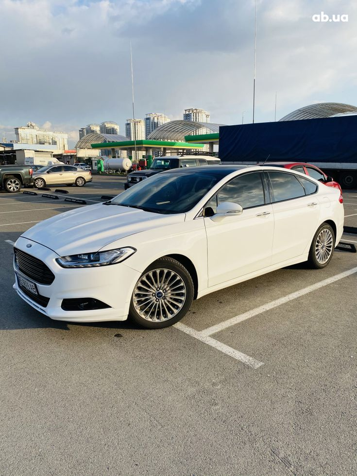 Ford Fusion 2014 белый - фото 11