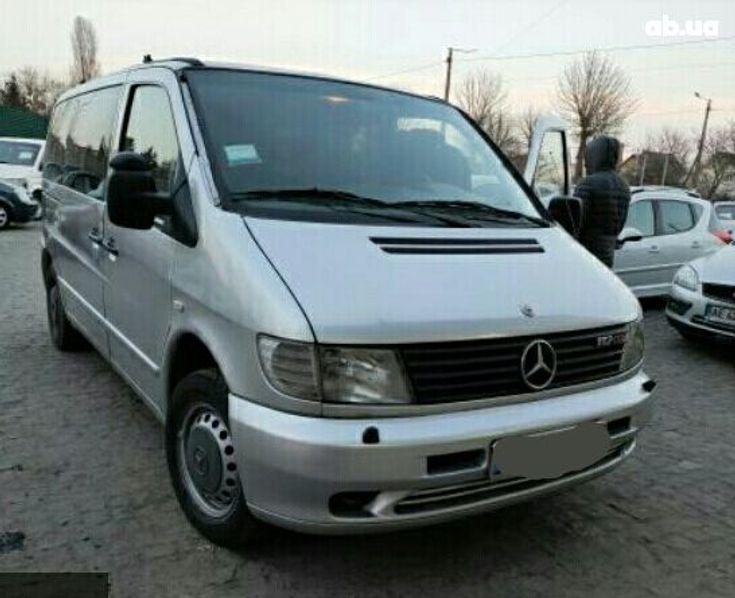 Mercedes-Benz Vito 2003 серый - фото 1