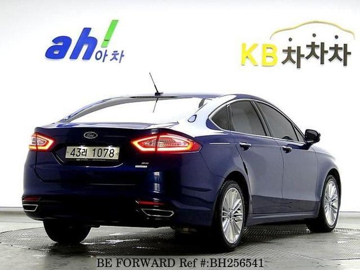 Ford Fusion 2014 синий - фото 5