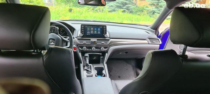 Honda Accord 2019 синий - фото 3