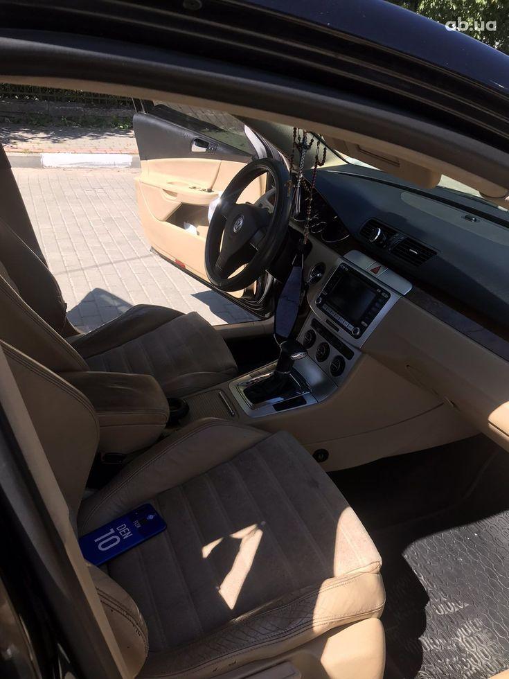 Volkswagen Passat 2007 черный - фото 10