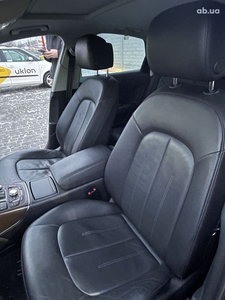 Audi A6 2013 черный - фото 19