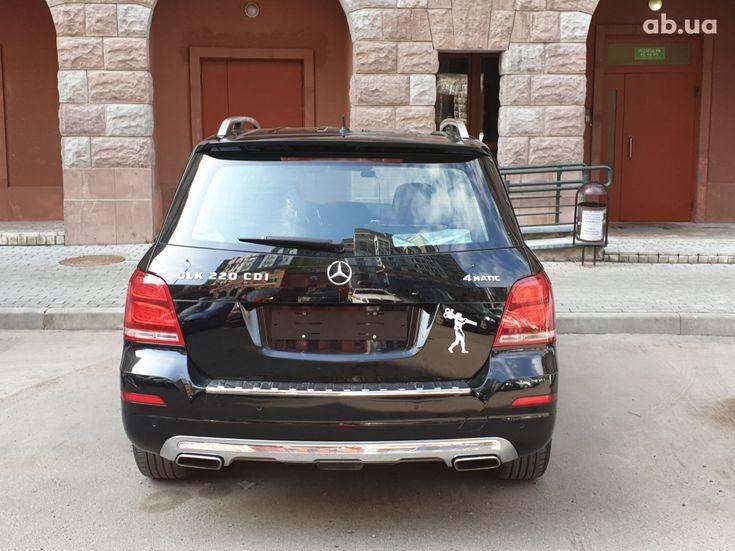 Mercedes-Benz GLK-Класс 2012 черный - фото 5