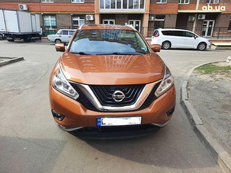 Nissan Murano 2015 оранжевый - фото 4