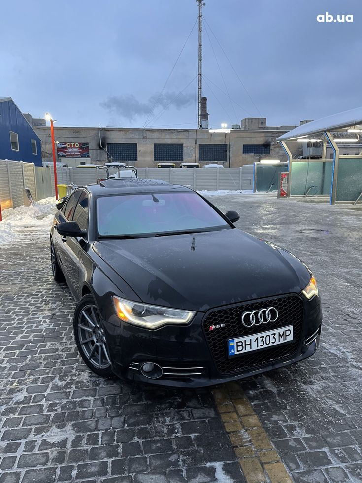 Audi A6 2013 черный - фото 7