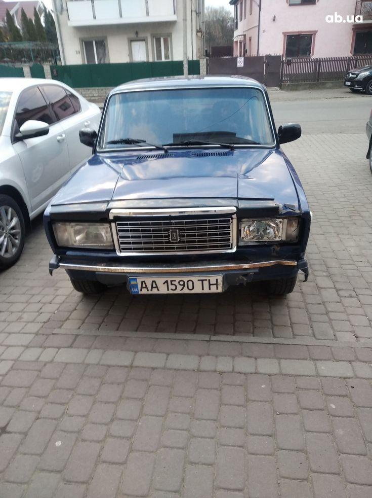 ВАЗ 2107 2005 синий - фото 4