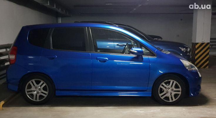 Honda Jazz 2006 синий - фото 2