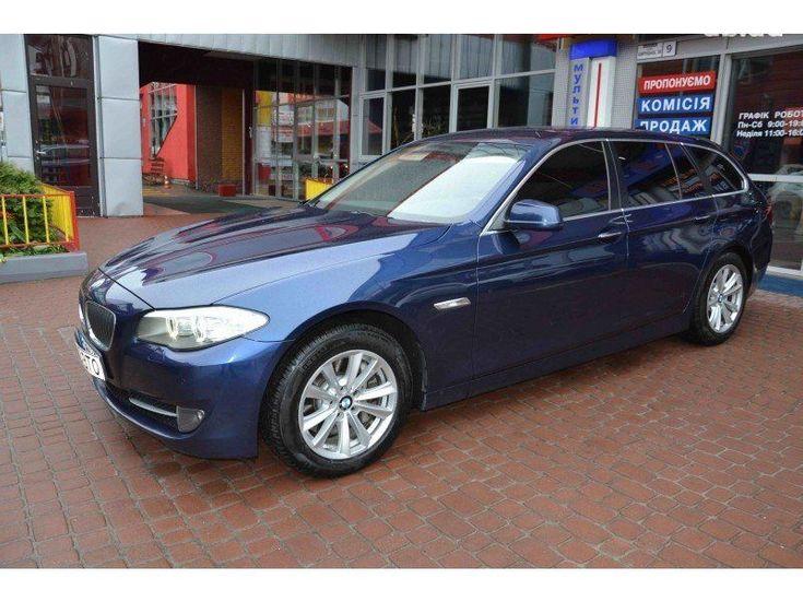 BMW 5 серия 2011 синий - фото 3