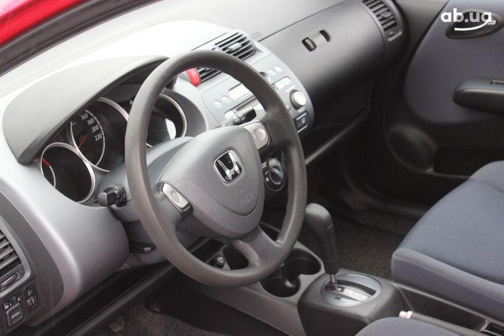 Honda Jazz 2004 красный - фото 4