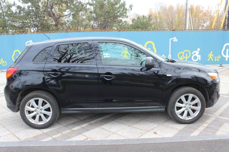 Mitsubishi ASX 2013 черный - фото 12