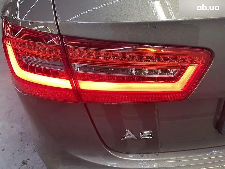 Audi A6 2015 коричневый - фото 13