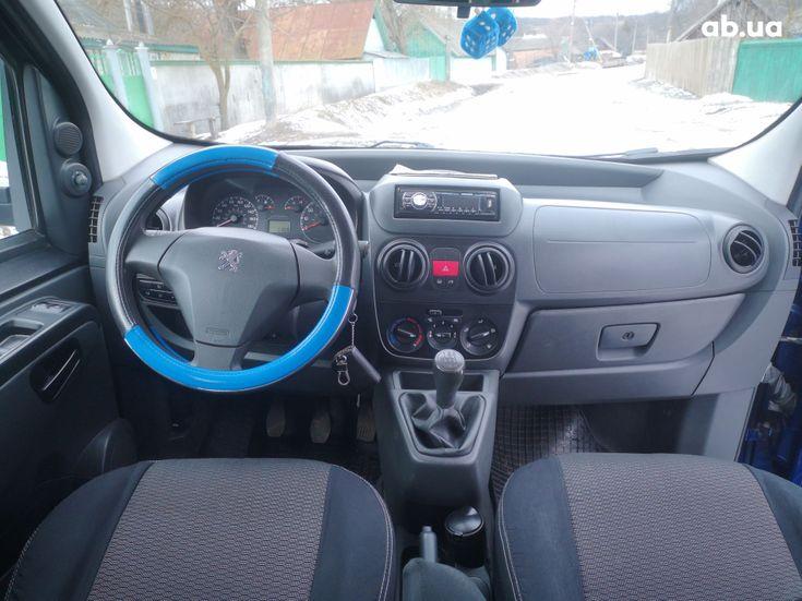 Peugeot Bipper Tepee 2008 синий - фото 13