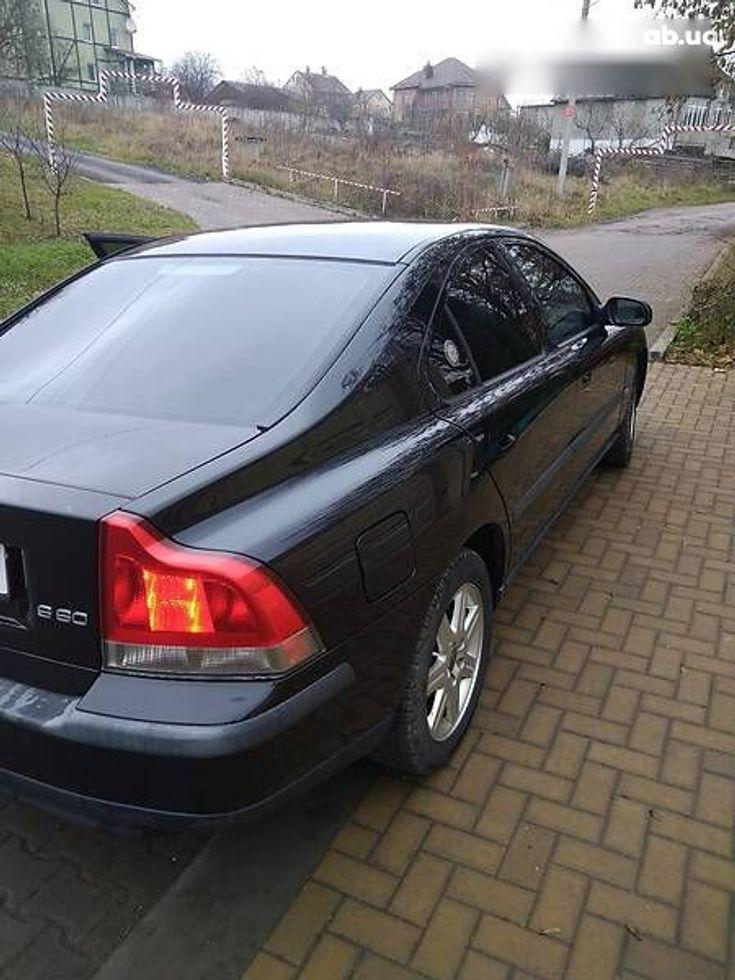 Volvo S60 2001 черный - фото 3