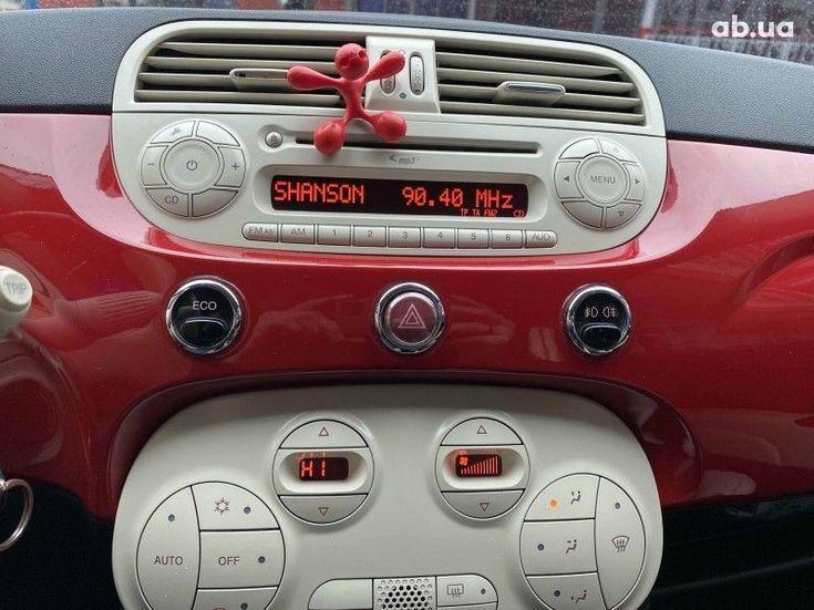 Fiat 500 2011 белый - фото 10